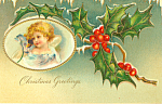 Christmas Greetings Postcard p21178