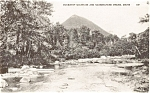 Click here to enlarge image and see more about item p2117: Doubletop Mountain Maine Postcard