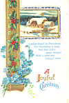 A Joyful Christmas Postcard p21200