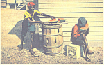 Click here to enlarge image and see more about item p21211: African Americans Postcard p21211