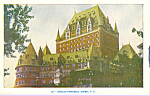 Chateau Frontenac Quebec Canada p21258
