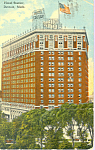 Hotel Statler Detroit Michigan p21274