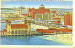 Piers and Hotels Atlantic City New Jersey p21288