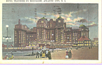 Hotel Traymore Atlantic City New Jersey p21292