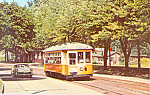 Click here to enlarge image and see more about item p21339: Car #352 Johnstown Traction Co. Trolley