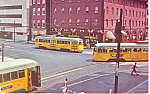 Click here to enlarge image and see more about item p21344: Baltimore Transit Co Three Car Meet