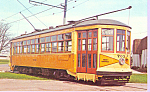 Click here to enlarge image and see more about item p21346: Car  703 Columbus Ohio Streetcar p21346