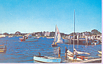 Sailboats in Southern New England Harbor