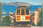 Hyde St Cable Car of San Francisco Alcatraz