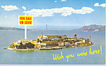 Click here to enlarge image and see more about item p21418: Alcatraz Island San Francisco
