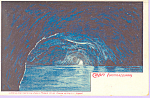 Click here to enlarge image and see more about item p21469: Capri Grotta  Azzurra Italy p21469