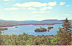 Click here to enlarge image and see more about item p21494: Blue Mountain Lake New York From Adirondack Museum p21494
