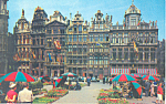 Click here to enlarge image and see more about item p21521: Grand Palace Brussels Belgium Postcard p21521