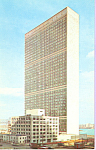 Click here to enlarge image and see more about item p21525: UN Secretariat Building New York City NY p21525