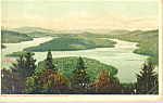 Lake Placid NY from Eagle s Eyrie p21574