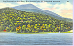 Click here to enlarge image and see more about item p21577: Blue Mountain Adirondacks New York p21577