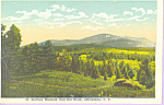 Click here to enlarge image and see more about item p21581: Scarface Mountain from Ray Brook,New York