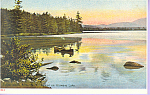 Click here to enlarge image and see more about item p21589: Utowana Lake Adirondacks  New York p21589