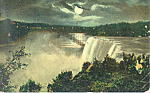 American Falls From Goat island Postcard p21598