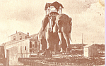 Click here to enlarge image and see more about item p21601: Lucy The Margate Elephant