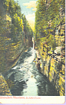 Ausable Chasm New York Postcard p21612
