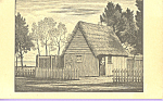 Click here to enlarge image and see more about item p21652: First House of Plimouth Plantation,Massachusetts