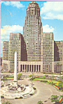 Click here to enlarge image and see more about item p21662: City Hall  McKinley Monument Buffalo  New York p21662