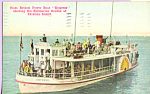 Glass Bottom Power Boat Empress at Catalina Island CA p21750