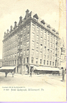Hotel Updegraph Williamsport Pennsylvania p21757