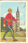 Click here to enlarge image and see more about item p21768: Royal Canadian Mounted Police