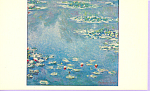 Water Lilies Claude Monet Postcard p21805