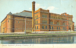 Click here to enlarge image and see more about item p21807: Second Regiment Armory, Trenton, New Jersey, Glitter