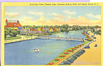 Click here to enlarge image and see more about item p21830: Wesley Lake, Asbury Park and Ocean Grove New Jersey