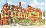 Savannah GA  Hotel De Soto Postcard