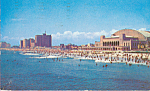 Convention Hall and Hotels Atlantic City New Jersey p21865