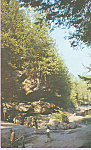 Upper Gorge Stone Bridge and Caves Pottersville New York p21905