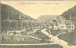 Click here to enlarge image and see more about item p21925: Bad Liebenzell Germany Konig Wilhem Anlagen p21925
