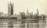 Click here to enlarge image and see more about item p21927: Houses of Parliment London England