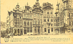 Click here to enlarge image and see more about item p21928: Brussels Belgium Grand Place p21928