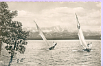 Click here to enlarge image and see more about item p21937: Sailboats Ammersee Lake Ammer Bavaria Germany p21937