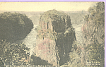 Click here to enlarge image and see more about item p21958: The Bridge from Victoria Falls and Hotel Zimbabwe p21958