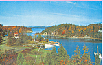 Click here to enlarge image and see more about item p21982: Scenic Harbor New Brunswick Canada p21982