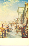 The Grand Canal Venice Shylock  J M W Turner Postcard p22014