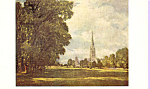 A View of Salisbury Cathedral , Constable