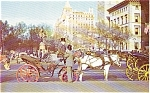 New York NY Carriages Postcard p2207