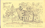 Click here to enlarge image and see more about item p22093: Old Dutch House, New Castle, Delaware