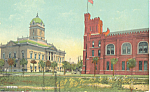 Click here to enlarge image and see more about item P22134: Court House and Armory,Jacksonville, Florida