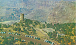 Click here to enlarge image and see more about item p22200: Watchtower at Grand Canyon National Park AZ p22200