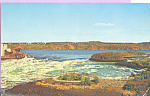 Click here to enlarge image and see more about item p22272: Reversing Falls Rapids New Brunswick Canada p22272