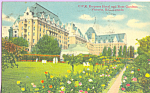 Click here to enlarge image and see more about item p22278: Empress Hotel Victoria British Columbia Canada p22278